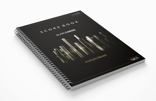 Multiple Faces Scorebook Paperbook