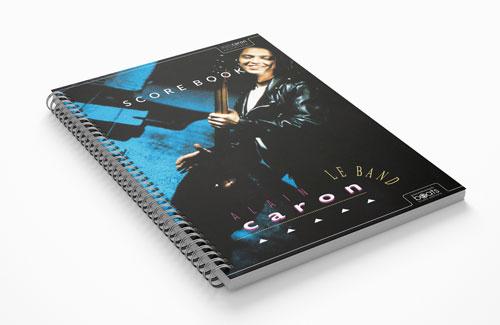 Le Band Scorebook Paperbook