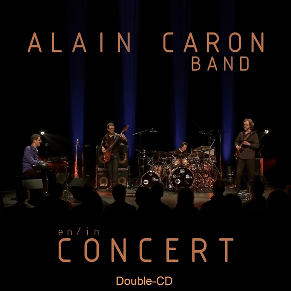 AlainCaron-EninConcert-cover-Front